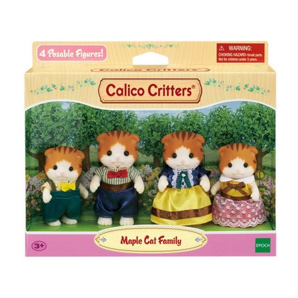 Calico Critters Maple Cat Family | Bumble Tree