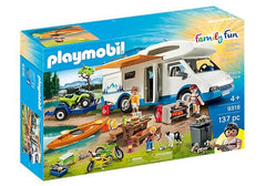Playmobil Family Fun Camping Adventure (9318) | Bumble Tree