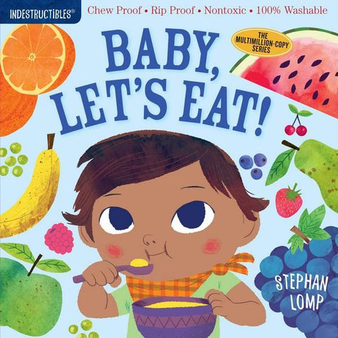 Indestructibles Book Baby, Let's Eat!