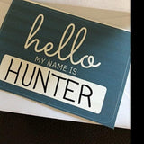 AMK Design Hello My Name Is Sticker | Bumble Tree