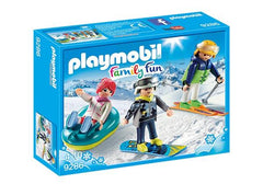 Playmobil Winter Sports Trio (9286) | Bumble Tree