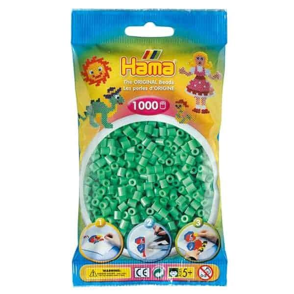 Hama 1K Midi Beads in Bag Light Green | Bumble Tree