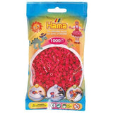 1000 Pack Hama Beads Claret Pink | Bumble Tree