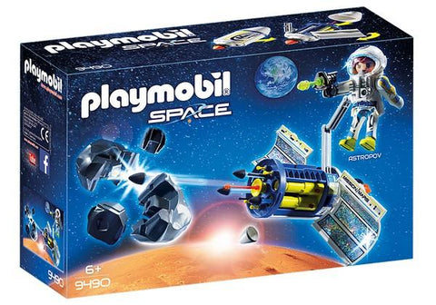 Playmobil Satellite Meteoroid Laser (9490)
