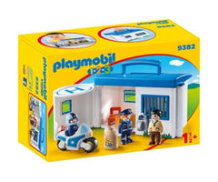 Playmobil 1.2.3. Take Along Police Station (9382) | Bumble Tree