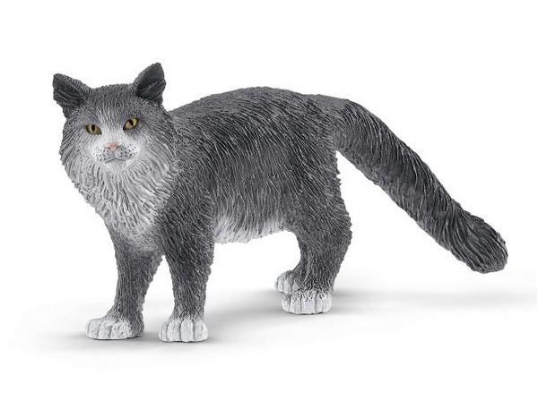 Schleich Maine Coon Cat (13893) | Bumble Tree