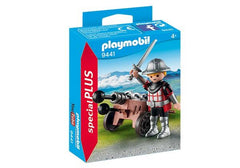 Playmobil Knight With Weapon Stand (9441) | Bumble Tree