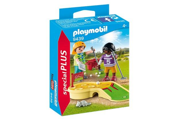 Playmobil Children Minigolfing (9439) | Bumble Tree