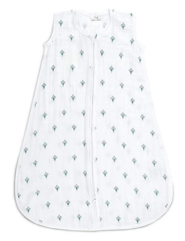 Aden & Anais Sleeping Bags 1.0 TOG Paisley Teal Drop