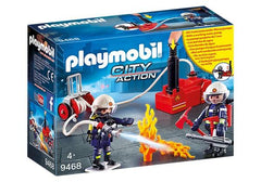 Playmobil Firefighters with Water Pump (9468) | Bumble Tree
