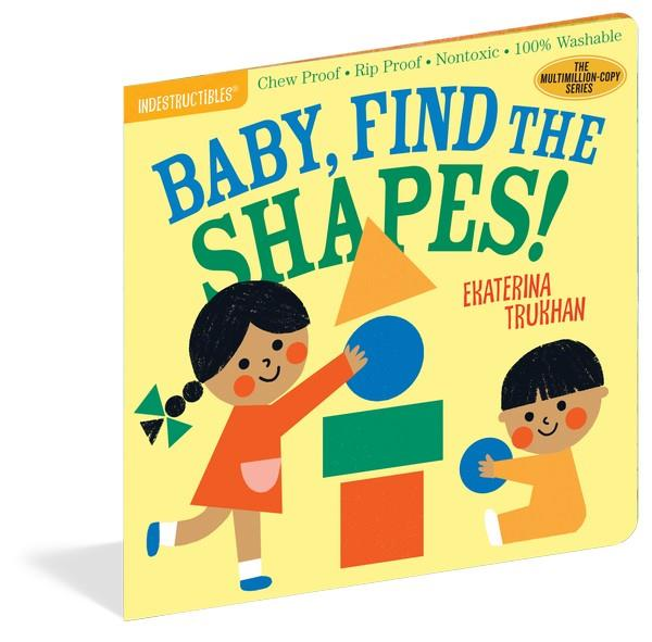 Indestructibles Book Baby, Find the Shape! | Bumble Tree