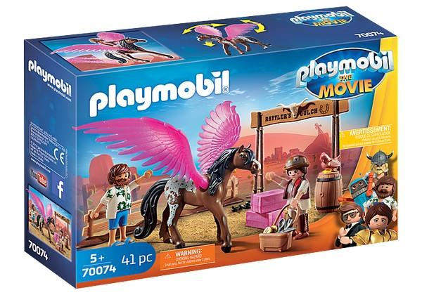 Playmobil Marla and Dell with Flying Horse (70074) | Bumble Tree