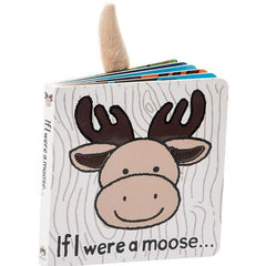Jellycat If I Were A Moose Board Book | Bumble Tree