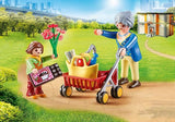Playmobil Grandmother With Child (70194) | Bumble Tree