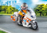 Playmobil Emergency Motorbike (70051) | Bumble Tree