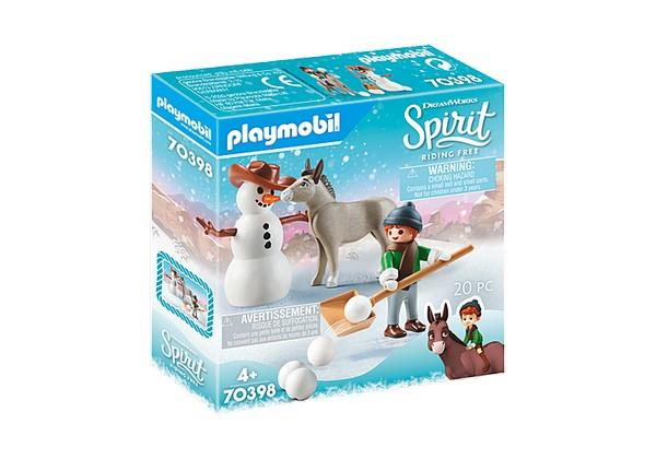 Playmobil Snow Time with Snips (70398)