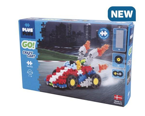 Plus Plus Go! Crazy Cart 240 pcs