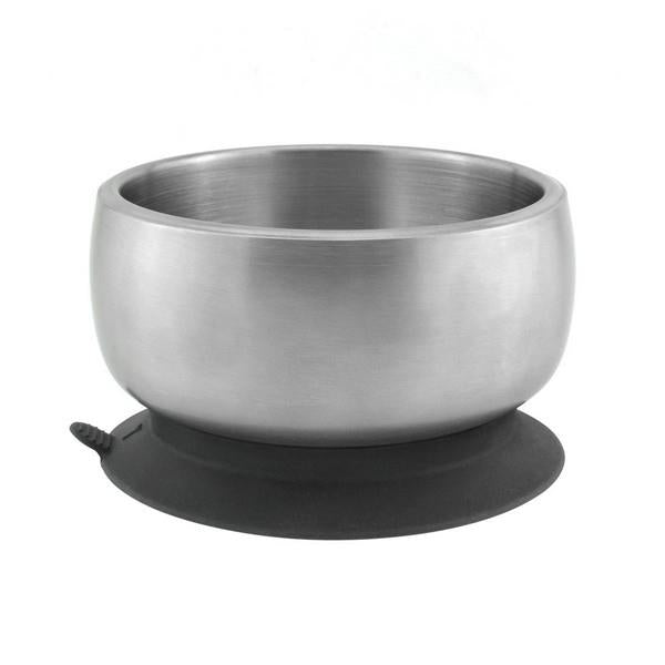 Avanchy Stainless Steel Baby Suction Bowl + Lid | Bumble Tree