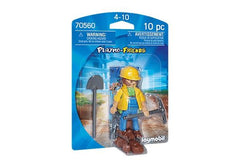 Playmobil Construction Worker (70560) | Bumble Tree