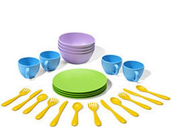 Green Toys Dish Set | Bumble Tree