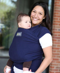Moby Wrap Baby Carrier Navy | Bumble Tree