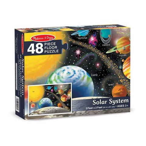 Melissa and Doug 48 Piece Puzzle Solar System