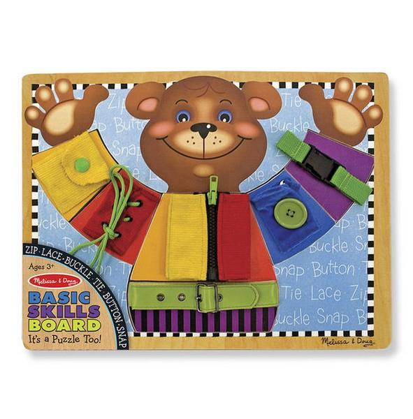 Melissa and Doug Basic Skills Board | Bumble Tree