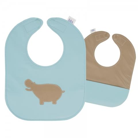Mally Designs Leather Baby Bib Toddler | Bumble Tree