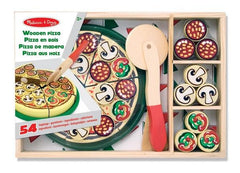 Melissa & Doug Wooden Pizza | Bumble Tree