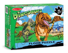 Melissa & Doug Land Of Dinosaurs Floor Puzzle - 48 pc