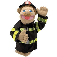 Melissa and Doug Stick Puppet Firefighter | Bumble Tree