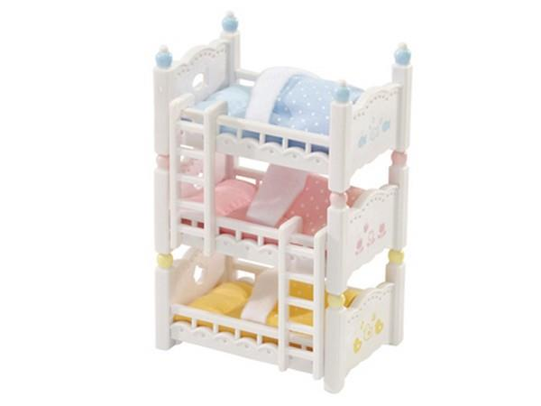 Calico Critters Triple Baby Bunk Beds | Bumble Tree