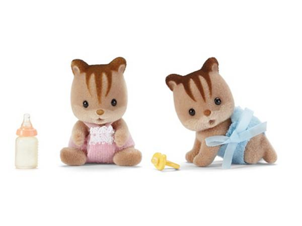 Calico Critters Hazelnut Chipmunk Twins | Bumble Tree
