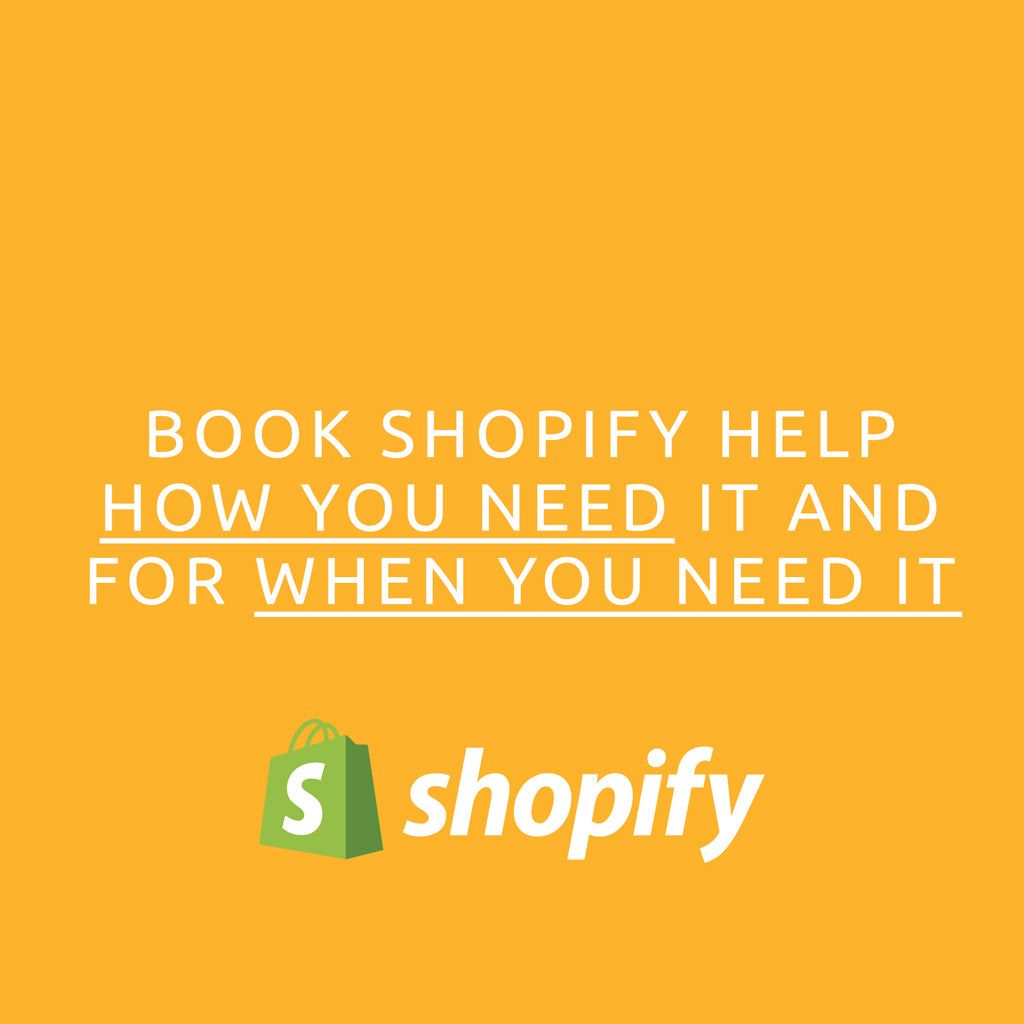 Shopify Hourly Support<br><sup>small tasks made easy</sup>