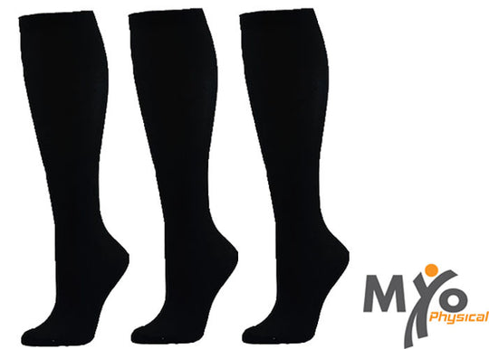 Black Profession Integrated Compression socks - 3 pairs
