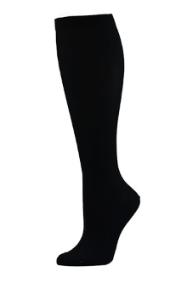 black compression sock athlete dress stocking nursing