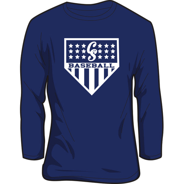 Home Plate Long-Sleeve Shirt