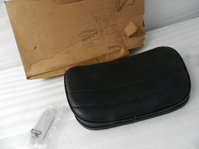 NEW OEM NOS HARLEY FXRT RIDER BACKREST 52548-87