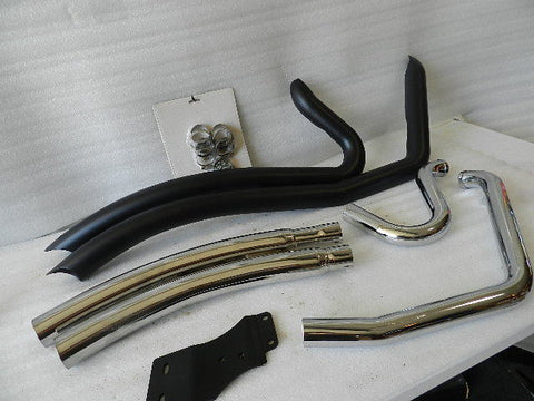 NEW 2008 AND NEWER HARLEY FXCW/C ROCKER COBRA SPEEDSTER PIPES 6235B