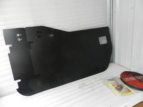 NEW 2007 AND NEWER JEEP WRANGLER FRONT HALF DOOR B5180301