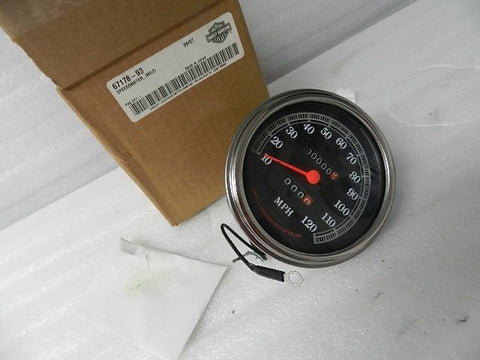 "NOS NEW 1993/1994 HARLEY SOFTAIL DYNA ROADKING 5"" SPEEDOMETER 67178-93"