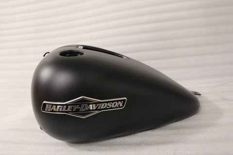 OEM NTO 2008-2011 HARLEY FXSTBI SOFTAIL NIGHT TRAIN DENIM BLACK GAS TANK