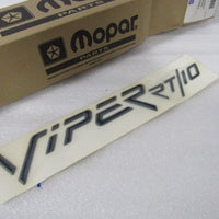 NEW OEM NOS DODGE VIPER RT/10 HOOD DECAL GC53MGR