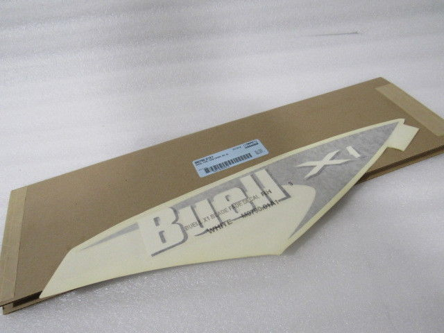 NEW OEM NOS BUELL X1 FUEL TANK COVER DECAL RIGHT M0790.01A1