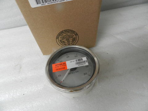 NOS NEW HARLEY FLTRSE SILVER FACE TACH 67459-00