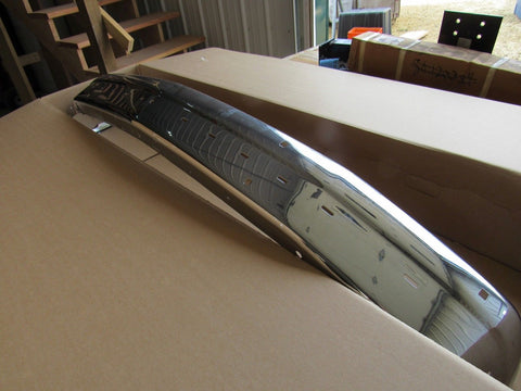NEW 1990-1996 DODGE DAKOTA CHROME FRONT BUMPER 4482850