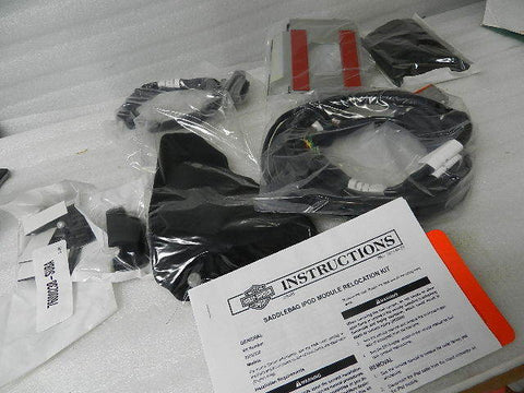 NOS NEW OEM HARLEY BOOM AUDIO IPOD RELOCATION KIT 76000238
