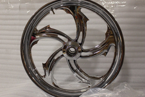 "NEW 1984-1999 HARLEY FXST FXDWG RIVAL 21"" PERFORMANCE MACHINE WHEEL"