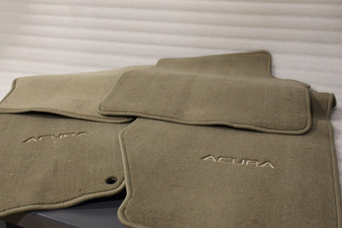 NEW OEM 1999-2000 ACURA TL LIGHT TAUPE FLOOR MAT SET 08P15-S0K-2F0