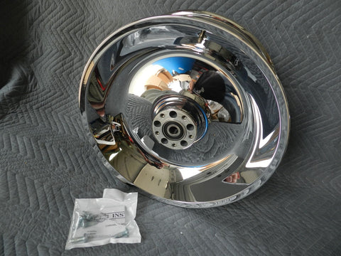 NEW 2006 HARLEY SOFTAIL SOLID CHROME WHEEL